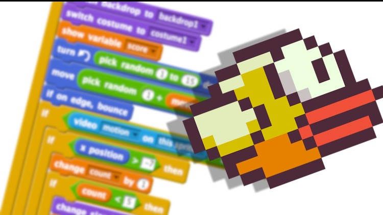 Udemy coupon: Programming for Beginners - Build games using Scratch