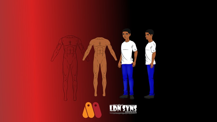 Create a Dynamic 2.5D Rig with Body Turn – Moho Anime Studio
