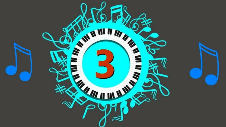 Rhythm #3: Play 16th Note - Ballad 9 and Melody Fill - D Key
