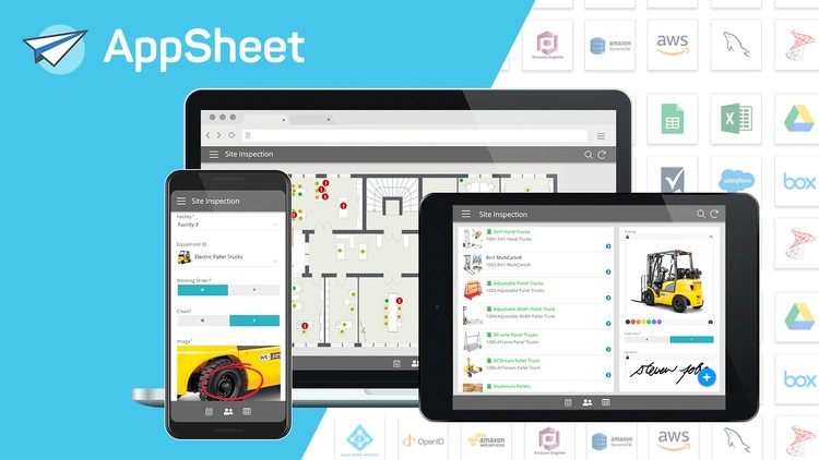 Create Business Applications with AppSheet