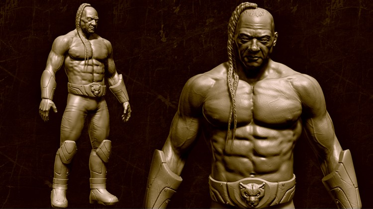 Character Creation for Games Vol. 1: Sculpting in Zbrush