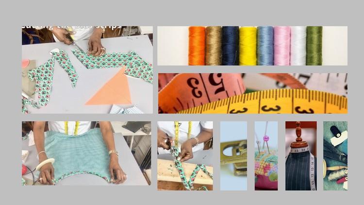 Simple Sewing Skills: Sew French Seam & Making bias binding