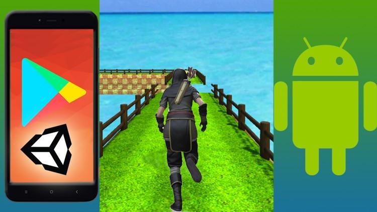 Crea un 3D Runner Game x Android con Unity, corso per tutti