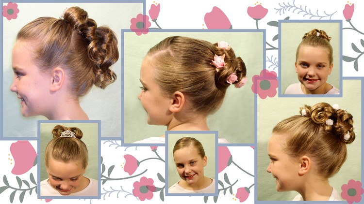 Hairstyle: Flower Girl hairstyles for Weddings and Events