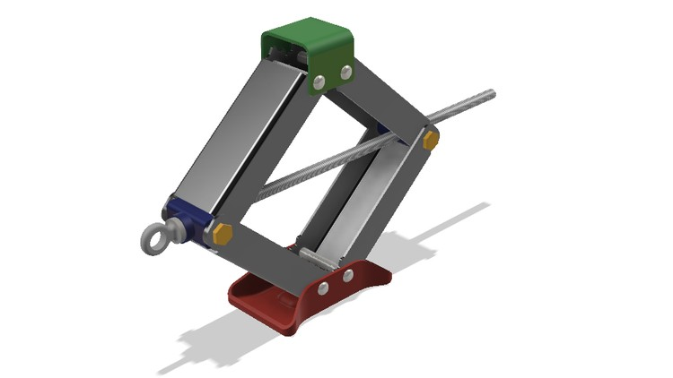 Mechanical design with Fusion 360 : Design of Jack