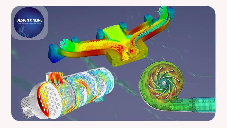 Flow Simulation using SolidWorks - تحليل سريان الموائع