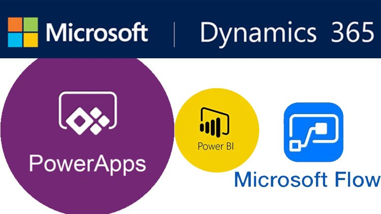 Dynamics 365 – with PowerBI, PowerApps and Microsoft flow