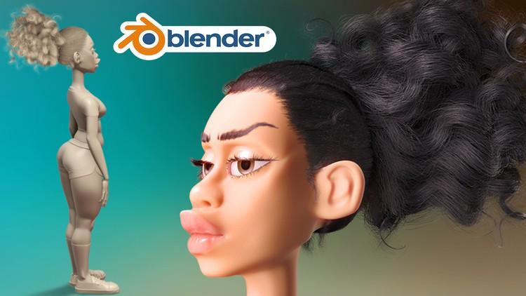 Cartoon Character Modeling in Blender