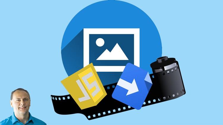 Google Drive Image Gallery Website JavaScript Google Script