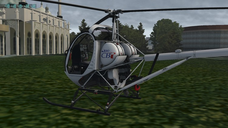 Learn to Fly. Helicopter Aircraft pilot Schweizer 300