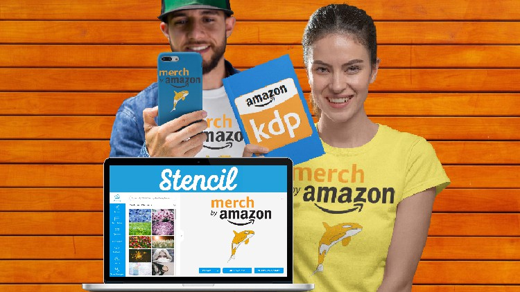 The Ultimate Guide to Stencil for Merch By Amazon, KDP & POD