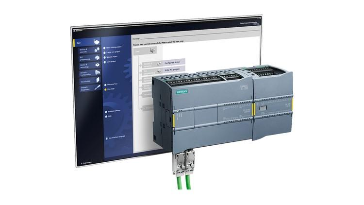 Siemens S7-1200 Motion Control Using Stepper Motor.