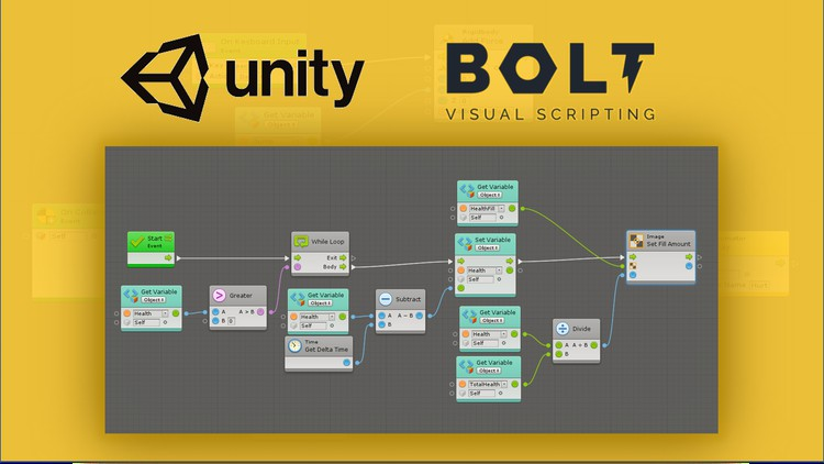 Create games with Unity using Bolt Visual Scripting