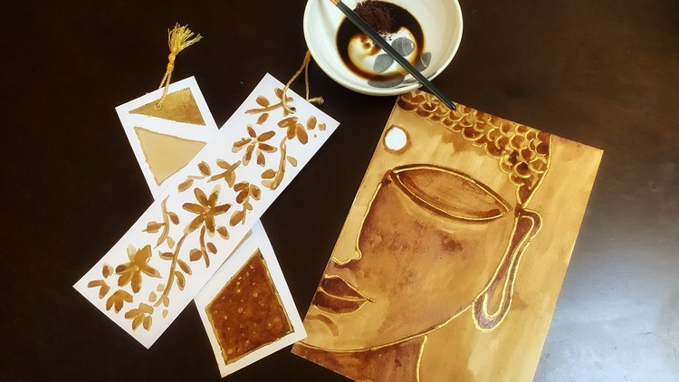 Coffee Painting for Beginners