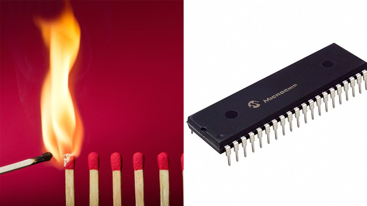 PIC Microcontroller Flame Detector