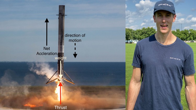 Rocket Science Physics First Principles from SpaceX
