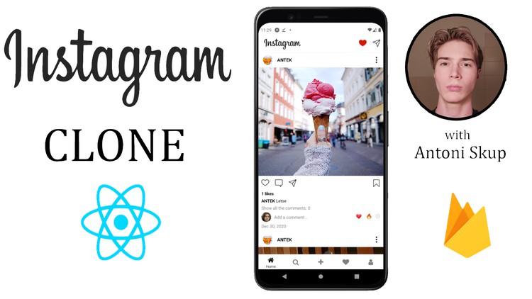 React Native bootcamp - Build an Instagram Clone w/Firebase