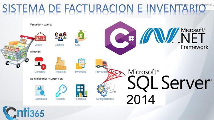 sistema de facturacion e inventario C# mvc Net Framework 4.5