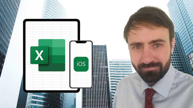 Microsoft Excel for Apple iPad (iOS) 2021. Full course.