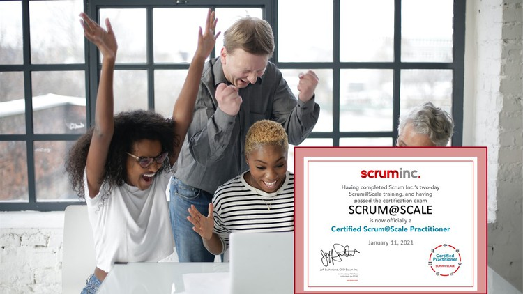 Certified Scrum@Scale Practitioner Practice Tests (S@SP)