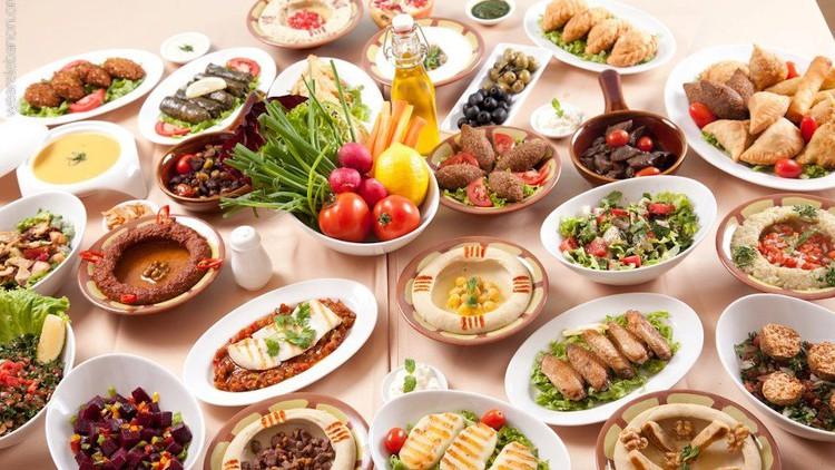 Lebanese and Mediterranean cuisine, savory & desserts (2in1)