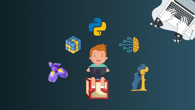 Python for Machine Learning with Numpy, Pandas & Matplotlib