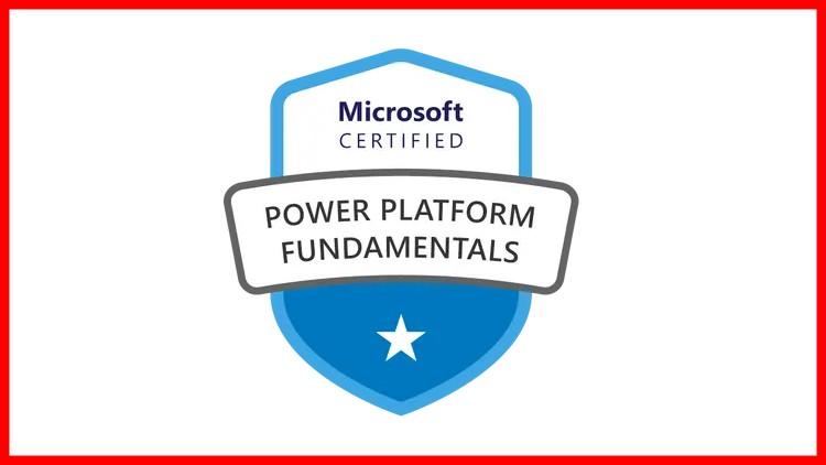 Microsoft Power Platform Fundamentals PL-900 Prep test 2021