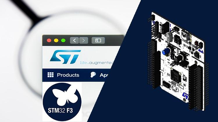 STM32F3 Bare-Metal Peripheral Drivers Development