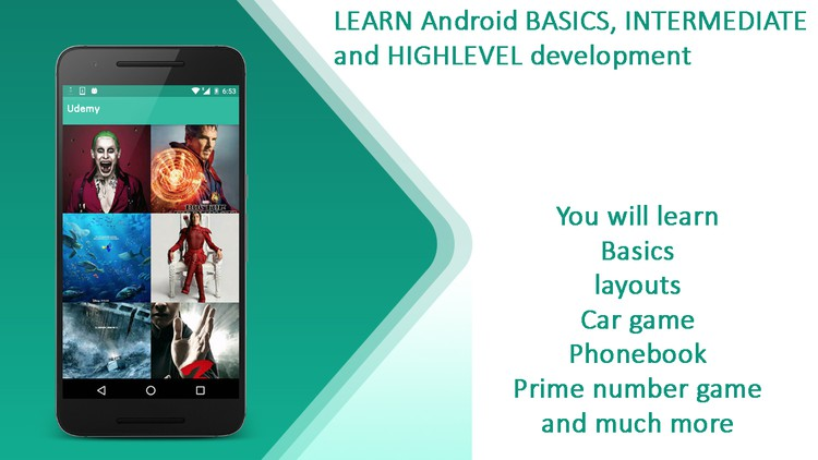 Android Programming with basic and high level examples